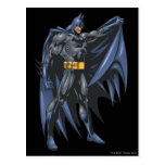 Batman sostiene el cabo - lado postal