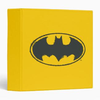 Batman Spray Symbol 3 3 Ring Binders