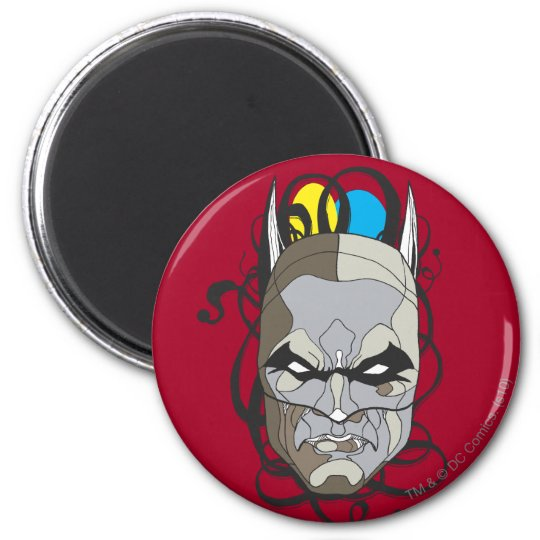 Batman Stained Glass Pen & Ink Magnet