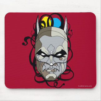 Batman Stained Glass Pen & Ink Mouse Pad