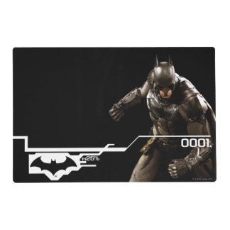 Batman Standing With Cape Placemat