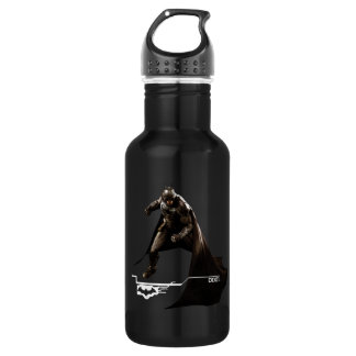 Batman Standing With Cape Stainless Steel Water Bottle