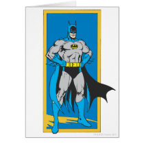 Batman Stands 2 Card