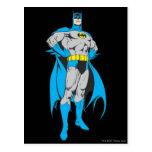 Batman Stands Postcard