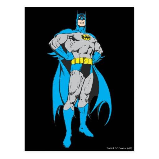 Batman Stands Post Cards