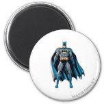 Batman Stands Up 2 Inch Round Magnet