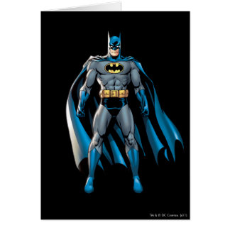 Batman Stands Up Card