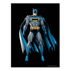 Batman Stands Up Postcard at Zazzle