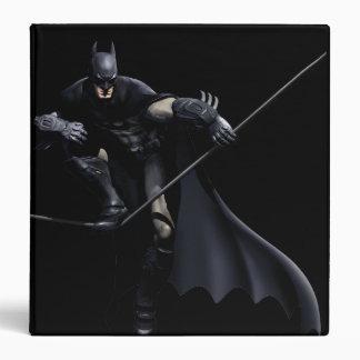 Batman Stepping On Line 3 Ring Binder