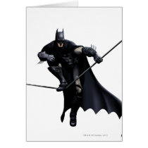 Batman Stepping On Line Card