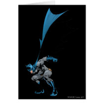 Batman stomps boots card