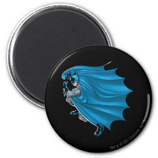 Batman Straight Forward Fridge Magnet