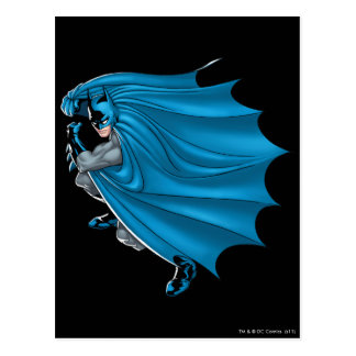 Batman Straight Forward Post Card