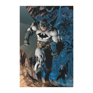 Batman Stride Canvas Print