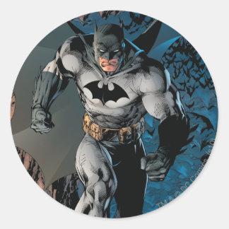 Batman Stride Classic Round Sticker