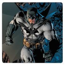 Batman Stride Square Wall Clock