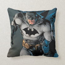 Batman Stride Throw Pillow