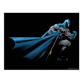 Batman strong look right postcard