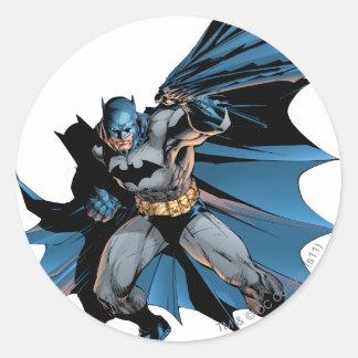 Batman Strong Shadow Classic Round Sticker