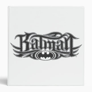 Batman Stylized Logo 3 Ring Binder