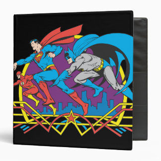 """Batman + Superhombre + Flash Carpeta 1 1/2"""""""