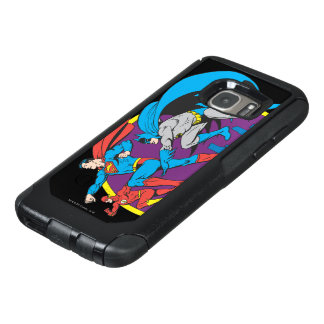 Batman + Superman + Flash OtterBox Samsung Galaxy S7 Case
