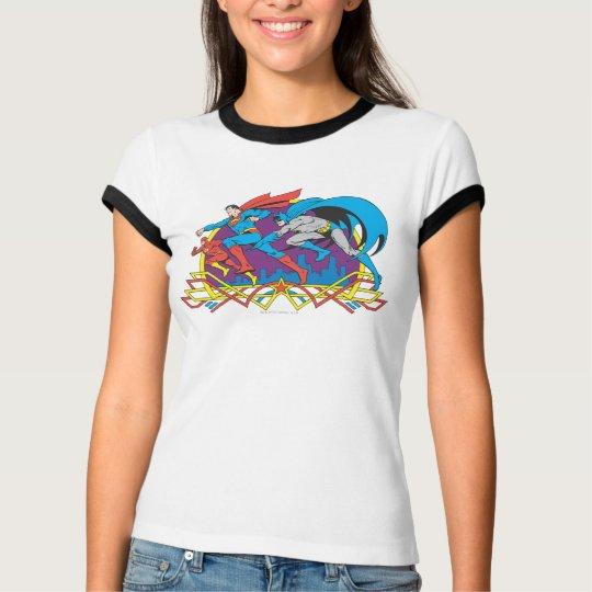 Batman + Superman + Flash T-Shirt