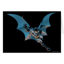 Batman swing  into action card