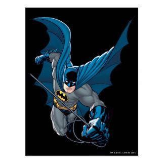 Batman swings from rope post cards