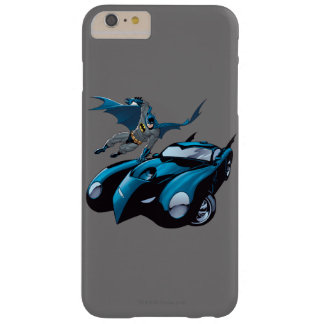 Batman swings over barely there iPhone 6 plus case