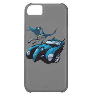 Batman swings over cover for iPhone 5C