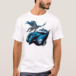 Batman swings over T-Shirt