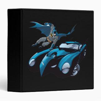 Batman swings over vinyl binder