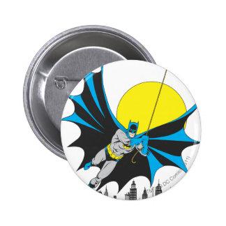 Batman Swings Pinback Button