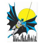 Batman Swings Postcard