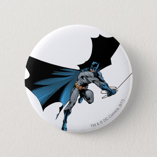 Batman swings with rope button