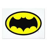 Batman Symbol 5x7 Paper Invitation Card