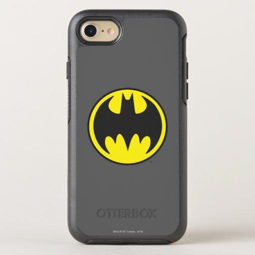 Batman Symbol | Bat Circle Logo OtterBox Symmetry iPhone SE/8/7 Case
