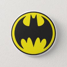 Batman Symbol   Bat Circle Logo Pinback Button at Zazzle