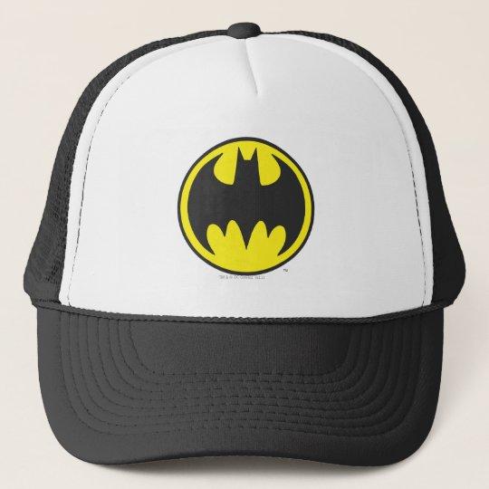 Batman Symbol   Bat Circle Logo Trucker Hat