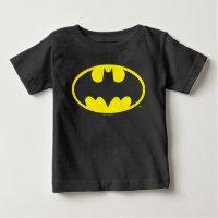 Batman Symbol | Bat Oval Logo Baby T-Shirt