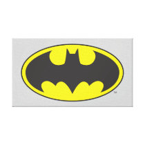 Batman Symbol | Bat Oval Logo Canvas Print