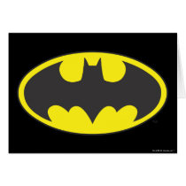 Batman Symbol | Bat Oval Logo Card