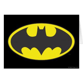 Batman Symbol   Bat Oval Logo Card