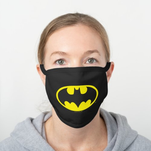 Batman Symbol  Bat Oval Logo Cloth Face Cover