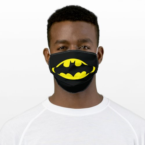 Batman Symbol  Bat Oval Logo Cloth Face Mask