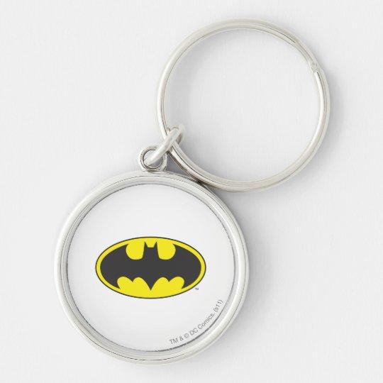 Batman Symbol | Bat Oval Logo Keychain