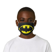 Batman Symbol | Bat Oval Logo Kids' Cloth Face Mask