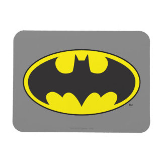 Batman Symbol | Bat Oval Logo Magnet