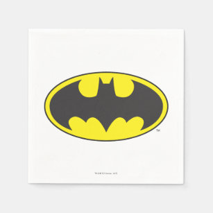 Batman Symbol | Bat Oval Logo Napkin